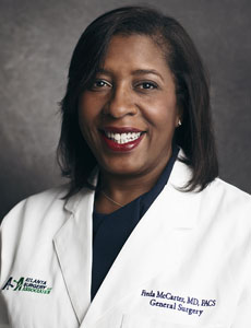 Freda D. McCarter, MD, FACS, surgeon at Atlanta Surgery Associates, LLC